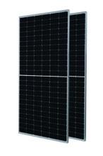 单晶390W半片PERC太阳能电池板,390W单晶太阳能电池板图片