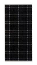 单晶410W半片PERC太阳能电池板,410W单晶太阳能电池板图片