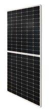 单晶455W半片PERC太阳能电池板,河南太阳能电池板图片