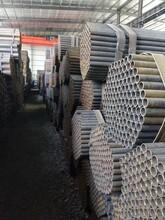 鍍鋅管,鍍鋅無縫管,美標鍍鋅鋼管,鍍鋅鋼管立柱成品倉庫圖片
