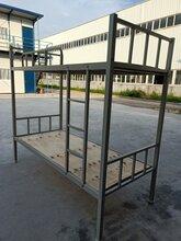 重庆钢制铁床学生钢架床宿舍钢床重庆钢制办公家具厂家直销