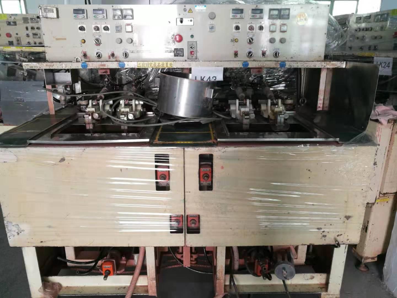 转让日本永田四轴研磨机推拉机上摆机透镜加工