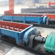 双轴搅拌机螺旋轴双轴搅拌机工业矿用搅拌机双传动双轴搅拌机图片