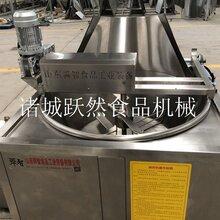 魷魚油炸鍋全自動小魚油炸機定制食品油炸油炸鍋