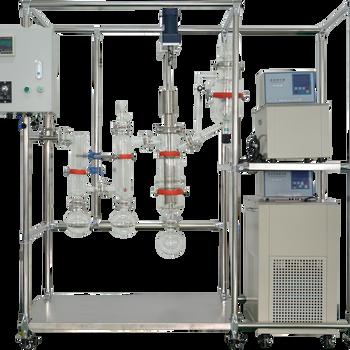 短程分子蒸馏仪AYAN-F80预热温度可调节膜式蒸发器