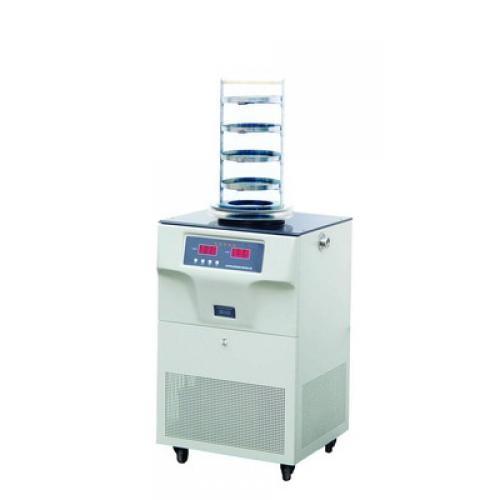 潍坊土壤冷冻干燥机FD-1A-80搁板型冻干设备