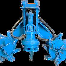 大型工程河道清淤絞吸泵-攪拌泥漿泵圖片