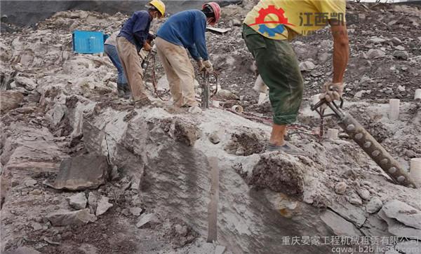 【劈裂棒尺寸张湾井桩岩石分裂机】- 黄页88网