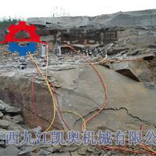 劈裂机劈裂棒岩石分裂机图片咨询热线图片