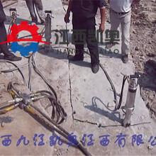 劈裂机劈裂棒挖地基破石头的劈裂机适合哪些工程图片