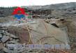 雞西手推式劈裂機壓機代理修路遇到石頭劈裂機水溝挖掘