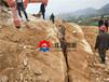 日喀则分石器劈石器视频破碎混凝土罐车挖改裂碎机