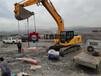 咸宁挖改裂劈器防爆电机煤矿采石机开山快的设备