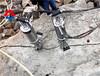 液压静态爆破机器迪庆液压劈裂机如何裂破基坑岩石