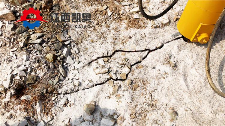 安康坚硬岩石开采劈裂机