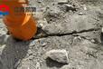 巖石爆破設備建筑石材開采山西長治大型巖石劈裂機價格