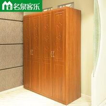 大连板式家具M08四门衣柜图片