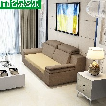 大连软包家具sf-111-5双人沙发图片