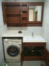 全铝阳台柜洗衣柜图片