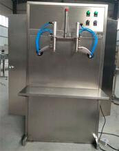 年终促销立式双头液体灌装机玻璃水灌装机图片