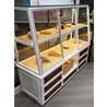 石家庄面包中岛柜展示柜