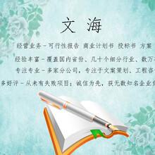 大慶專家代寫融資計劃書便捷服務圖片