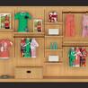 儿童服饰展柜