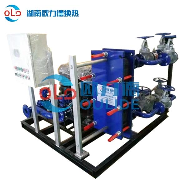 汽水卫生热水板式换热机组汽水板式换热机组