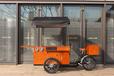 Jxcycle經典高配三輪餐車歐式流動咖啡售賣車多功能美食車