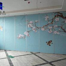 鹰潭市活动隔断屏风宴会厅折叠门厂家图片