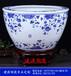 景德鎮陶瓷水缸批發、擺件禮品魚缸、定做酒店溫泉洗浴缸