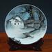 廠家定制陶瓷看盤掛盤、時尚精美瓷器盤子、送禮裝飾品紀念盤