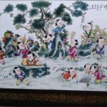 拍卖高端王大凡瓷板画去哪好图片