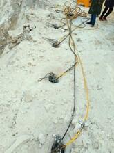 新疆克拉玛依石头太硬打不动用什么机器设备劈裂棒-产量多少图片