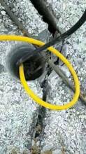 湖南湘潭代替钩机破碎岩石撑石机工程破坚硬石头劈裂棒-性能怎么样图片