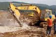 基础修建开挖石头大型劈石机器北海-适不适用