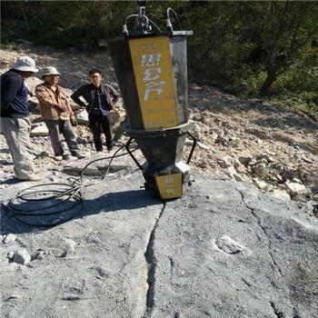 郑州沟渠开挖用自动岩石分裂棒-厂家直销