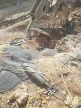石头太硬挖掘机破碎破不开怎么办荆州-怎么施工图片