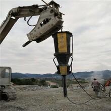 河池采矿场代替炸药劈石头开石机-怎么施工图片