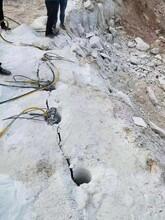 无锡基坑不用放炮代替膨胀剂的液压破石设备-厂家价格图片