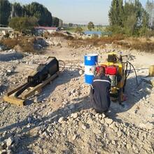 防城港挖地基用机载破石劈裂棒和静态劈石机清远-怎么施工图片