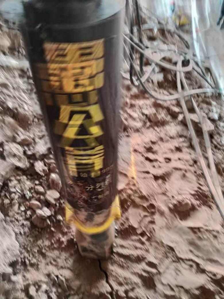 不用膨胀剂的液压开山机采石头机械潍坊-适不适用