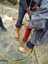 永州土石方用什么机械破石头效果好实力-厂家直销图片