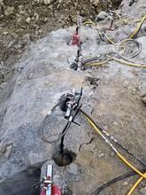 盐城基础石头破除劈裂机图片