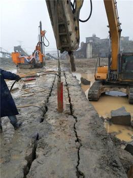 云南迪庆公路扩建岩石劈裂器当地经销商