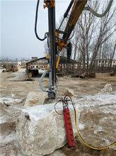湖南衡阳混泥土拆除大型劈裂机上门调试图片