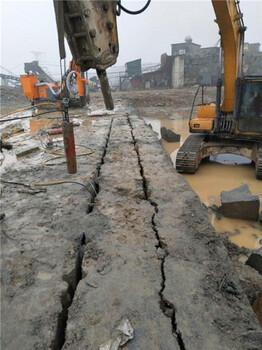 汕头岩石劈裂棒竖井开挖工程爆破机械价格