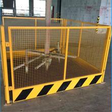 四川基坑圍欄-施工護欄-市政道路欄桿-電梯防護門工地隔離鐵絲網圖片