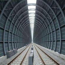 四川鐵路輕軌全封閉聲屏障降噪治理隔音墻圖片