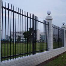 四川遂寧陽臺鐵藝護欄小區鋅鋼圍欄價格庭院圍墻鐵柵欄圖片
